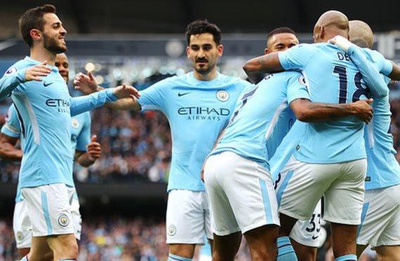 Манчестер сити суонси 12 минут