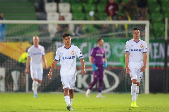 Группа H: Ференцварош Реброва сыграл вничью с Эспаньолом, Лудогорец разгромил ЦСКА