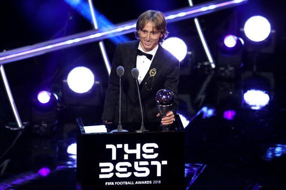 Модрич получит награду Золотой след-2019