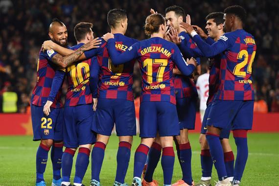 Только Барселона набрала больше очков из чемпионов лиг топ-5, чем в пр