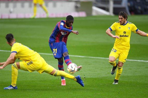 Барселона леванте счет 15 февраля