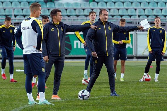 Молодежная сборная Украины готовится к матчам отбора Евро-2023
