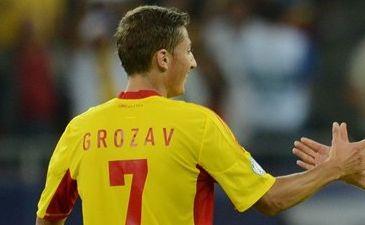Георге Грозав - автор единственного гола в матче, AFP