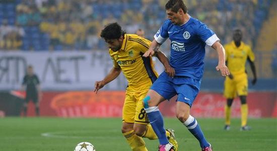 Эдмар и Селезнев встретятся в сборной. Фото Дмитрия Неймырка, Football.ua