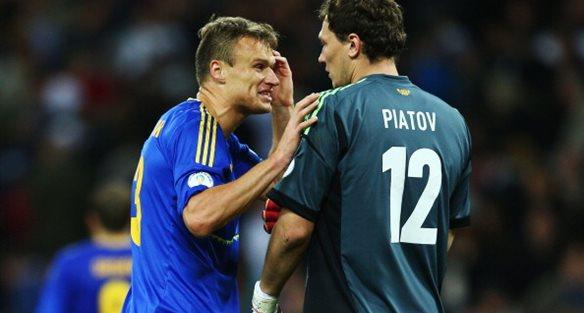 Вячеслав Шевчук и Андрей Пятов, Getty Images