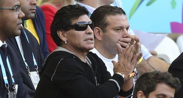 Диего Марадона, фото corrieredellosport.it