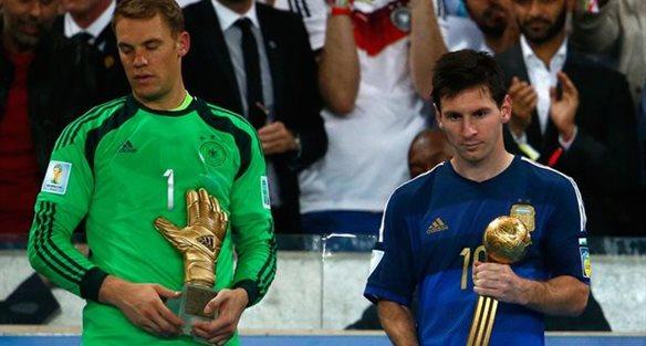 Нойер и Месси, фото fifa.com
