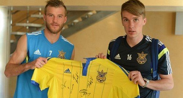 Андрей Ярмоленко и Сергей Сидорчук, ffu.org.ua