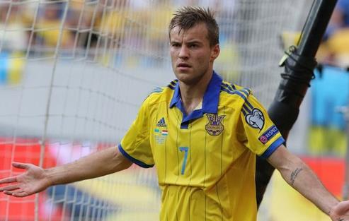 Андрей Ярмоленко, фото ФФУ