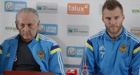 Михаил Фоменко, Андрей Ярмоленко, Football.ua