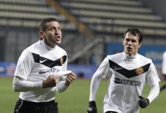 Белик забивал Ниве и в Запорожье, и в Виннице, фото fcmetalurg.com