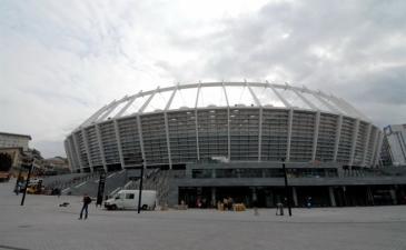 Обновленный НСК Олимпийский, фото Ильи Хохлова, Football.ua