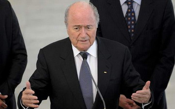 Президент ФИФА Зепп Блаттер, Agencia Brasil