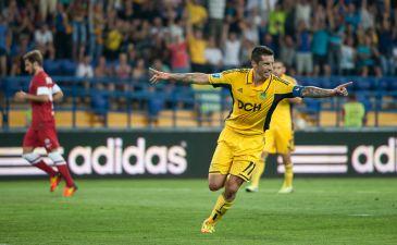 Соса открыл счет, фото Дмитрия Неймырка, Football.ua