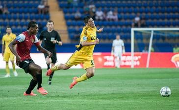 Кристальдо поправил прицел лишь под конец матча, фото Д. Неймырка