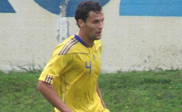 Один из лучших защитников первой лиги Николай Лазорик оказался в тернопольской Ниве, фото Артура Валерко, Football.ua
