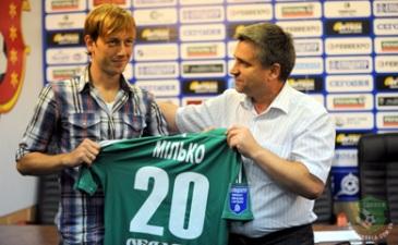 Вадим Милько, vorskla.com.ua