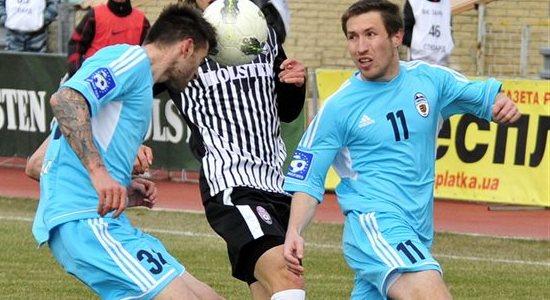 Станислав Печенкин в матче против Зари, фото Football.ua