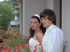 Жена Дарко Дунича с Дарко Дуничем