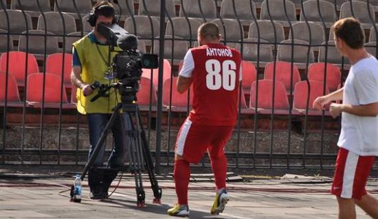С другой стороны телевизора, © Евгений Анистрат Football.ua