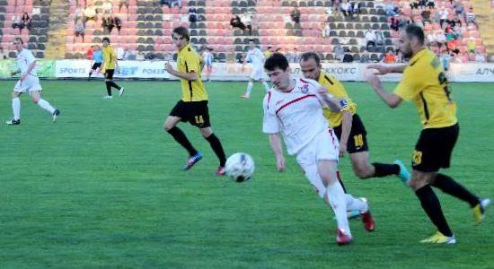 Если брать сугубо весеннюю часть, Сталь и Александрия не попадают в тройку, фото fcstal.lg.ua