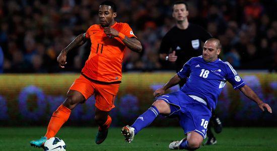 Ленс против сборной Андорры, Getty Images