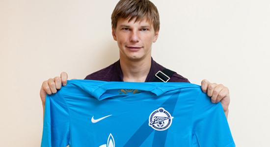 Андрей Аршавин, фото fc-zenit.ru