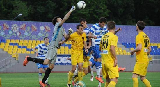 В матче против Севастополя свою 90-минутку славы получил и резервный вратарь харьковчан Рябой, fcsevastopol.com