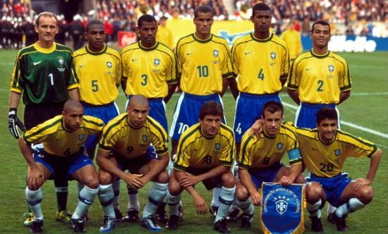 Сборная Бразилии образца 1998 года, Getty Images