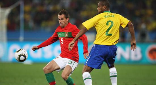 Дуда в матче против сборной Бразилии, Getty Images