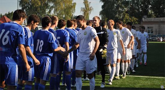 Раньше представители восточной и западной групп второй лиги могли пересечься только в кубке, фото В.Криворучко, fckremen.com