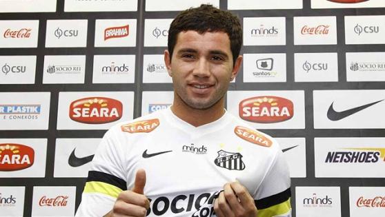 Эухенио Мена, фото Santos FC
