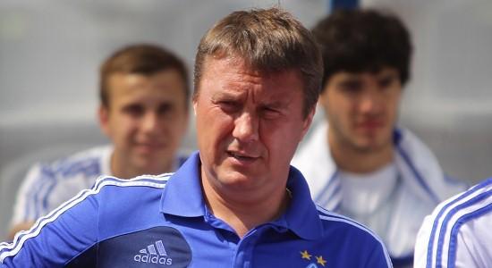 Хацкевич начал обновление Динамо-2, fcdynamo.kiev.ua