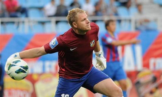 Евгений Боровик - один из героев матча, фото Ильи Хохлова, Football.ua