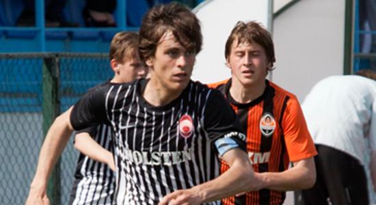 Гордиенко в игре, фото zarya-lugansk.com