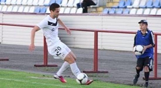 Дмитрий Башлай стал автором спасительного гола ахтырчан, фото volynnews.com