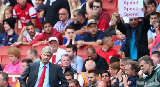Болельщик Арсенала призывает Арсена Венгера тратить деньги на трансферы, Getty Images