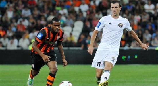 Алексей Годин против Фернандо, фото Михаила Масловского, Football.ua
