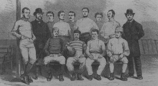 К 150-летию футбола. Первый клуб (часть 1)