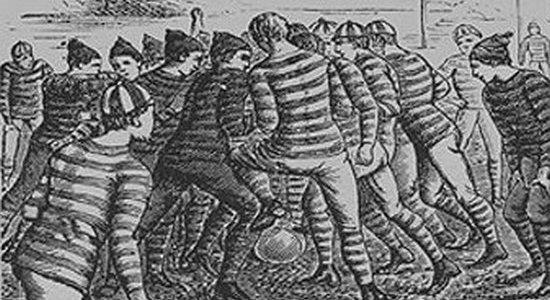 К 150-летию футбола. Футбольная Ассоциация (часть 1)