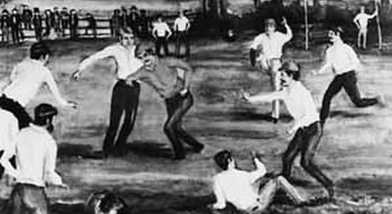 К 150-летию футбола. Смутное время (часть 1)