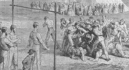 К 150-летию футбола. Смутное время (часть 2)