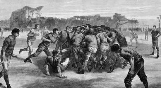 К 150-летию футбола. Смутное время (часть 3)