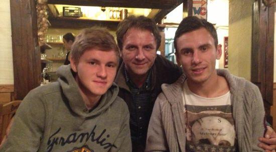 В.Заховайло вместе с В.Калитвинцевым и С.Рыбалкой, фото Facebook