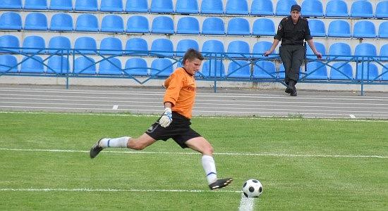Вратарь Кремня Олейник не пропускал мячей 505 минут, фото Артура Валерко, Football.ua