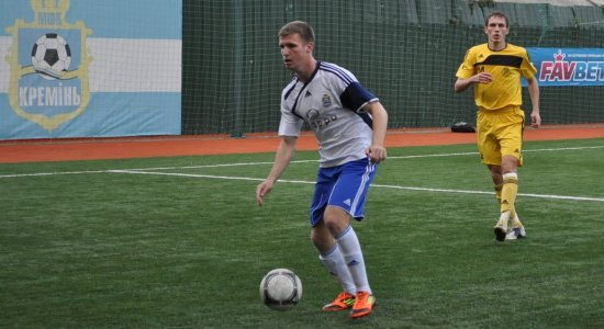 Андрей Бацула (с мячом), fckremen.com
