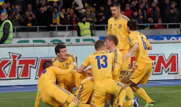 Сборная Украины, фото Ильи Хохлова, Football.ua