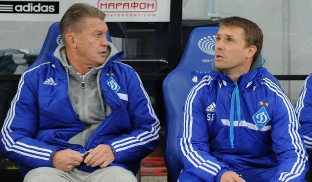 Сергей Ребров (справа), вышел на новый уровень, фото Ильи Хохлова, Footbal.ua