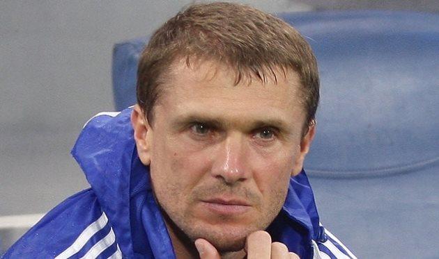 Сергей Ребров, фото dynamo.kiev.ua
