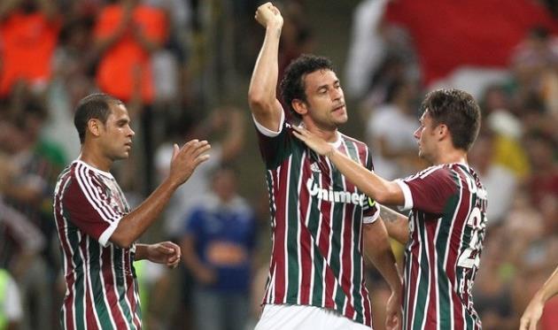 Карлиньос, Фред и Рафаэл Собис, фото Matheus Andrade/Photocamera